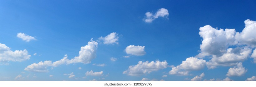 Cloudy Blurred sky natural blue sky clouds landscape  abstract background