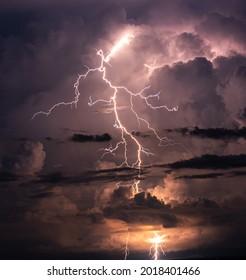 Cloudy, Clodus of rain, balck color of clouds, Rainy strom - Shutterstock ID 2018401466