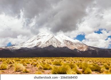 Cloudy day in Atacama