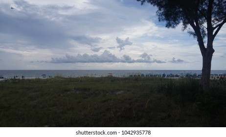Cloudy Day on Longboat Key, Florida USA
