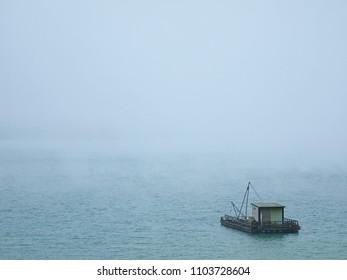 Cloudy Day in Sunmoon Lake, Taiwan