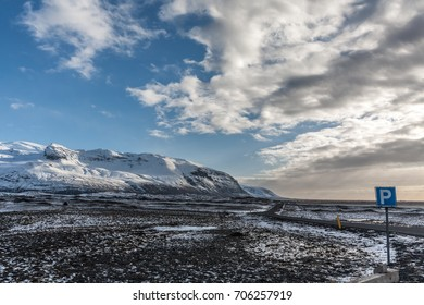 cloudy in iceland