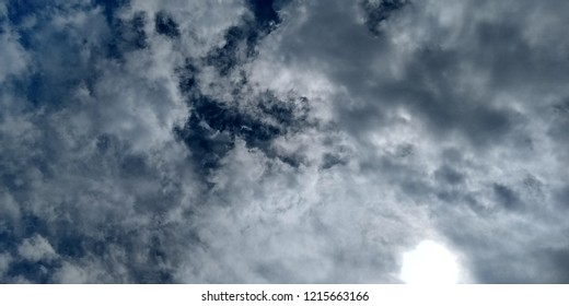 The cloudy skay