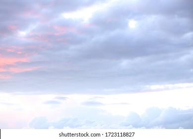cloudy sky background sunset time blue sky