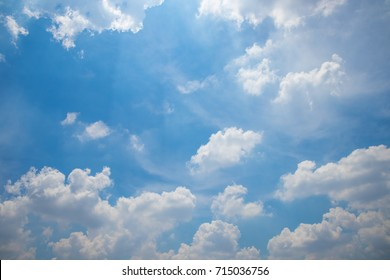 Cloudy sky in daytime