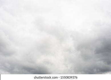cloudy sky with heavy clouds in a bad weather