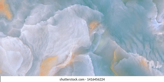 Cloudy watercolor only marble texture background, Tile surface can be used as a trendy background for interior home decoration ceramic tile.