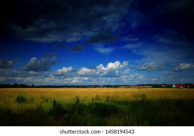 Hd Field Of Village Wallpaper Images Stock Photos Vectors