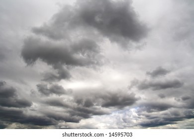 cloudy weather in the sky