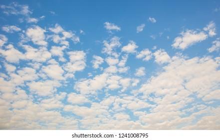 Clound and blue sky.
