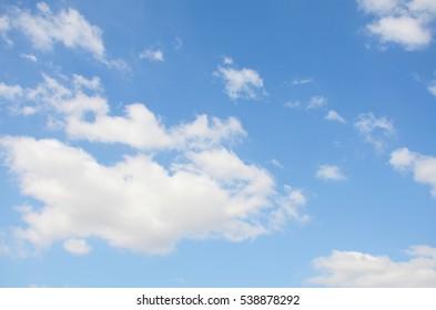 Clound and Blue sky background