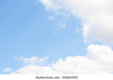 Clound blue sky background