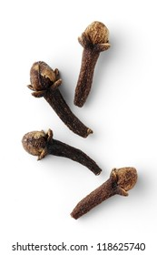clove spice isolated