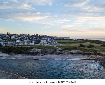 Clovelly Beach, Sydney view in the morning.