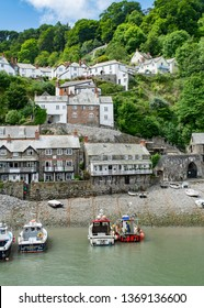 Clovelly, Devon, UK May 2018 The perfect place to be for a getaway weekend in south  england
