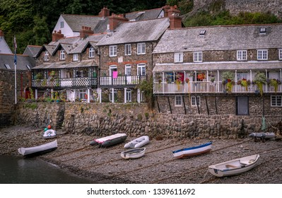 Clovelly a fishing village on the north east coast of Devon