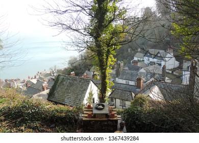 Clovelly - a quaint fishing village in North Devon