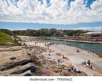 Clovelly, sydney, Australia, 06/06/2013, Clovelly beach on the sydney coast beach to beach walk.