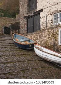 Clovelly village, North Devon, England