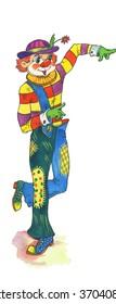 Clown dancer