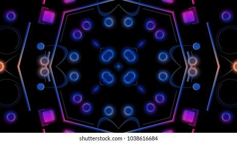 Club lights background