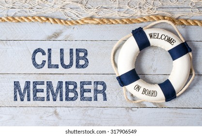 Club Member - Welcome on Board