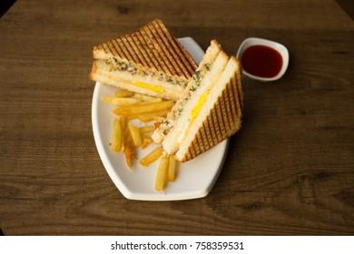 club sandwich chicken