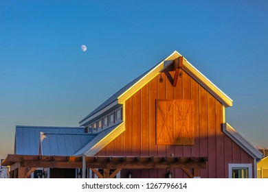 Clubhouse that looks like a barn in Utah Valley