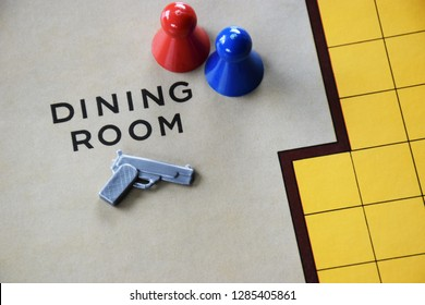 Cluedo Murder Mystery Board Game background