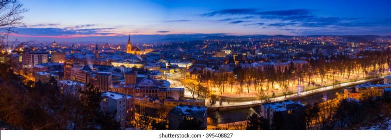 Cluj Napoca panorama