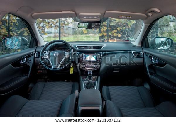 Cluj Napocaromanianovember 07 2018 Nissan Qashqai Stock