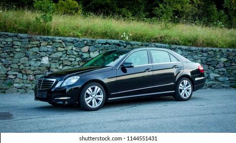 Cluj Napoca Romania September 03 2016 Mercedes Stock Photo (Edit Now