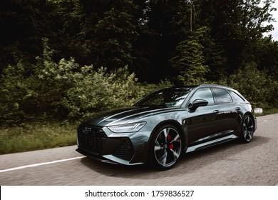 Cluj-Romania/ 20.06.2020- New Audi rs6 2020 Performance