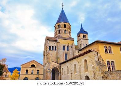 Cluny abbey, Bourgogne-Franche-Comté, France