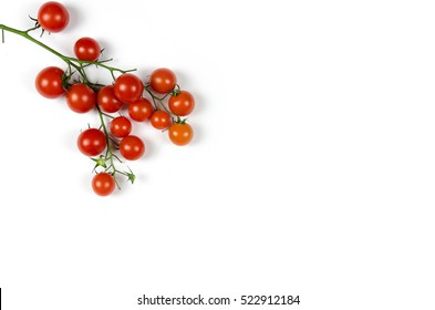 clusters of small tomatoes