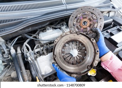 Clutch basket and plate replacement