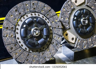 Clutch for car. Car clutch disc disk parts details components.