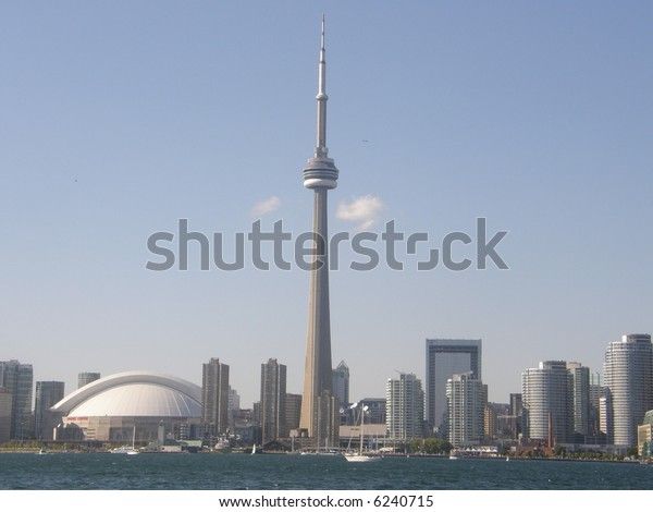 Cn Tower Toronto Canada Stock Photo Edit Now 6240715