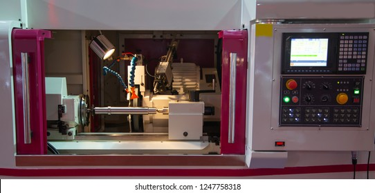 CNC cylindrical surface grinding machine, industrial machining