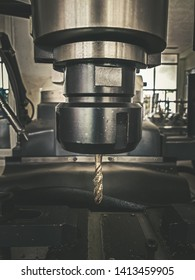 The CNC machine for drilling and threading materiel work