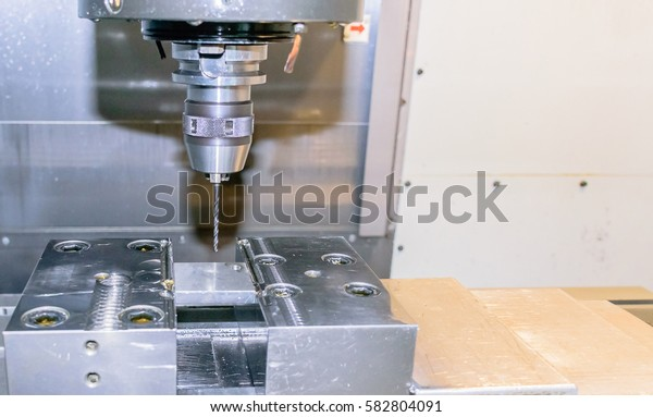 CNC MACHINE.Drilling tool.
