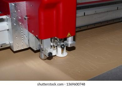 cnc paper cutter machine detail