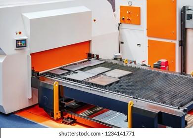 CNC Servo Drive Orange Turret Punch Press Machine