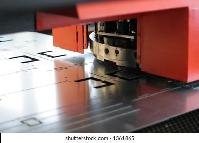 CNC sheet metal stamping or punching machinery