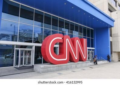 CNN Headquarter Atlanta - ATLANTA, GEORGIA - APRIL 21, 2016
