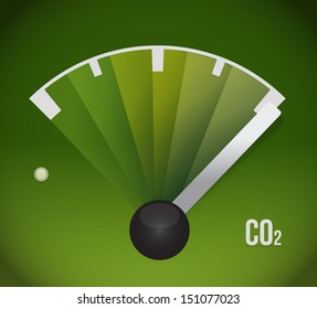 co2 gas tank. eco friendly illustration design full over white