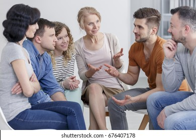 Coach and support group during psychological therapy.