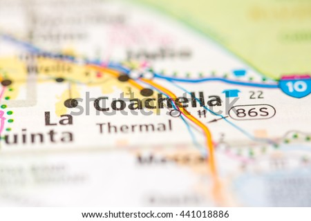 Coachella California Usa Stock Photo Edit Now 441018886 Shutterstock