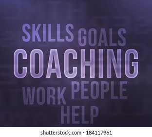 Coaching Tag Cloud