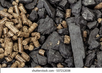 Coal and biomass pellet